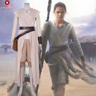 Halloween Star Wars Rey Dress Cosplay Costume Custom Made Force Awakens