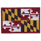 MARYLAND FLAG EMBROIDERED PATCH
