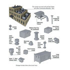 3733 Walthers Cornerstone Roof Detail Kit HO Scale Kit