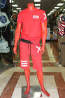 Men's Red XX 2 Piece Short Set by Hudson 100% Cotton