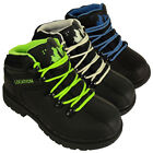 Boys Leather School Hiker Black Boots Location Ankle Boot Kids Shoes Lace Up