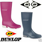 WOMENS LADIES WELLIES DUNLOP WELLINGTONS BOOTS RUBBER SHOES SIZE 3-8 UK SNOW NEW