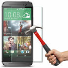2.5D Super shield Tempered glass Screen Protector Guard 9H For HTC One M7 M8 M9