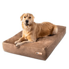cheap dog beds for large dogs - Big Barker Orthopedic Dog Bed: Sleek Edition. For Large and XL Dogs.
