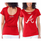Touch by Alyssa Milano Atlanta Braves Women's Red Team Spirit T-Shirt