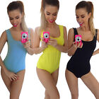 Women Sports Romper Dance Training Practice Yoga Bodycon Slim One piece Jumpsuit