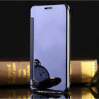 Samsung Luxury Smart Mirror Clear View Slim Flip Case Pouch Cover for S5/S6/S7