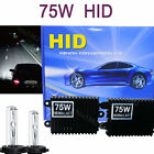 High Quality 1 Pair 75W AC HID Headlight Conversion Kit H1 H3  H7 5K H11 6K 8K
