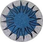 Marble Medallion Mosaic Decorative Art Tile Accent For Floors Walls Tabeltops -
