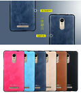 360° Protective Shockproof Soft PU Leather +TPU SLIM BACK Case Cover For XiaoMi