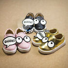 2016 Spring Baby Child Kids Girl Boy Cosplay Party Shark Glasses Eyes Flat Shoes