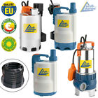 SUBMERSIBLE PUMP CLEAN WATER ELECTRIC POND PUMP DIRTY GARDEN FLOOD WELL