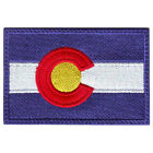 COLORADO FLAG EMBROIDERED PATCH