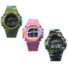 New Design Digital LED Analog Quartz Alarm Date Sports Wrist Watch