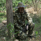 Summer Outdoor Cotton Breathable Camouflage Fishing Leaves Bionic Ghiliie Suit