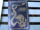RARE FRANKLIN MINT CHINES CHECKERS GAME RULES BOOK DRAGON HARD COVER