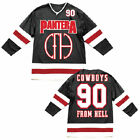Pantera: Cowboys From Hell Hockey Jersey  Official