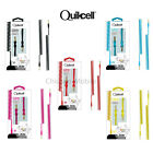 Quikcell 3.5mm 6.6ft Coiled Auxiliary Cable Male to Male Stereo Audio Cable Cord