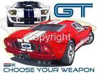 Ford GT40 Muscle Car Offical Tshirt NWT automotive art