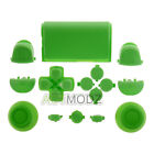Full Buttons Set for Sony PS4 Controller Replacement Parts Chrome Solid Color