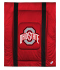 OHIO STATE BUCKEYES Jsy Comforter Twin Full/Queen LR/SL