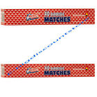 "BOXES IN LOT- LONG 11"" MATCHES 40 IN BOX FIREPLACE GRILL BBQ CANDLE CAMPING"