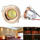 5 x 3w LED Recessed Small Cabinet Mini Spot Lamp Ceiling Downlight Kit Fixture