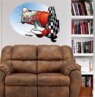 Gee Bee Race Plane WALL GRAPHIC DECAL #4069 MAN CAVE OFFICE DECOR