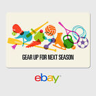 eBay Digital Gift Card - Sports Designs - Email Delivery