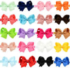 4.3'' New Baby Girls Toddler Kids Hair Bow Hair Band Headband Grosgrain Ribbon