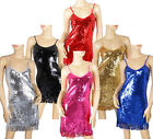 Sexy Girl Lady Evening&Cocktail Party Dance Wear Bling Sequin Club Dress 980