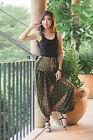 Peacock Print Hippie Gypsy Hippie Boho Alladin Harem Pants Trousers & Jumpsuit