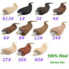 18inch Micro Beads Loop Ring Hair Extensions 100% Pure Remy Human Hair 100s/50g