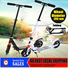 Folding Push Scooter 20CM Big Wheel w/ Suspension Adult Commuter Child Xmas Gift