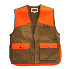 Gamehide Upland Field Pheasant Vest (Marsh Brown/Orange) 3ST