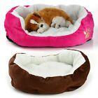 New Arrival Pet Dog Cat Fleece Warm Bed Kennel Mat Cushion Pad Medium Washable
