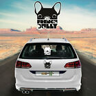Car Sticker Sticker Car Foil Car Lettering French Bulldog 1