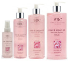 SBC Rose and Argan Oil Skincare Gel, to calm and soothe skin, choose your size