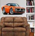 1971 1972 Charger RT Muscle Car WALL GRAPHIC DECAL MAN CAVE ROOM 9495