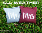 Set of 8 Mr & Mrs Classic Series Cornhole Bags - All Weather by Get Outside Game