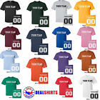 Brand NEW CUSTOM T-Shirt Personalized ANYCOLOR T-Shirts Softball Football Soccer