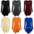 UK Womens Ladies Casual Sexy V-Neck Jersey Everyday Dress Jersey Dress Size 8-16