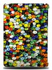 BEADS BUTTON WALLPAPER HARD BACK CASE COVER FOR APPLE iPAD AIR 1 / 2