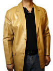 Blazer Jacket Soft Leather Lambskin Buttons Closure Brand New SPECIAL PRICE #538