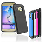 Rugged Armour Protective Anti-Slip Hard Back Case Cover for Samsung Galaxy S6