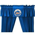 "New York Mets 63"" or 84"" Curtain & Valance Set"