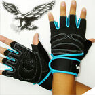 Weight Lifting Gym Gloves Workout Wrist Wrap Sport Exercise Training Fitness
