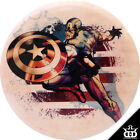 Dynamic Discs DyeMax Marvel Captain America Splatter