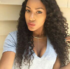 Kinky  Curly Brazilian 100% Human Hair Wigs Full/ Front Lace Wigs Baby Hair HOT