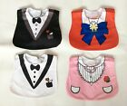 Baby Boy Girl Smart Outfit Protect Bibs Special Occasion Wedding Party Pack of 2
